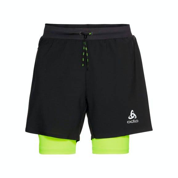 Odlo Axalp Trail 6 Inch 2-In-1 Short Heren