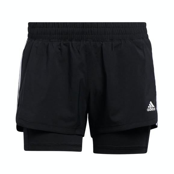 adidas Pacer 3 Stripes 2in1 Short Dames