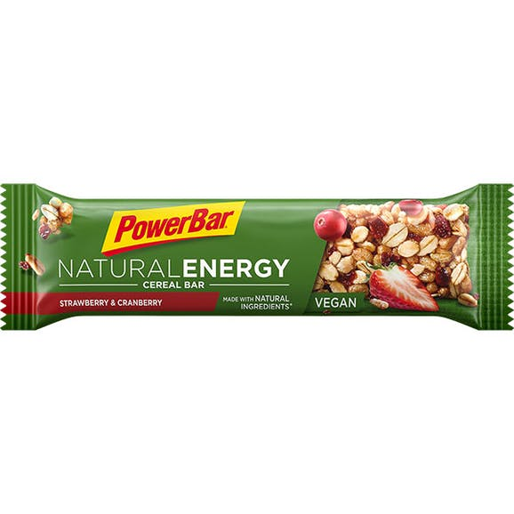 PowerBar Natural Energy Cereal Bar Strawberry Cranberry