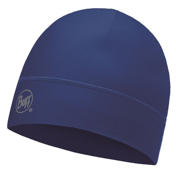 Buff Microfiber 1 Layer Hat Solid Blue Skydiver