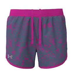 Under Armour Fly By 2.0 Printed Short Dames
