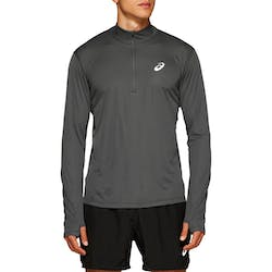 ASICS Silver 1/2 Zip Shirt Heren