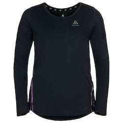 Odlo Zeroweight Chill-Tec Blackpack Crew Neck Shirt Dames