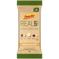 PowerBar Real5 Bar Banana Hazelnut 65g