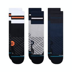 Stance Duration Crew 3 Pack Unisex