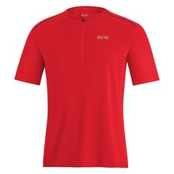 Gore Flow Zip T-Shirt Heren