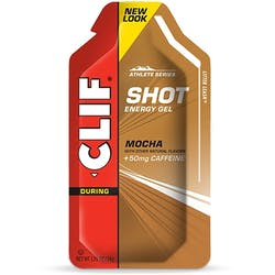 Clif Energy Shot Gel Mocha + Caffeine
