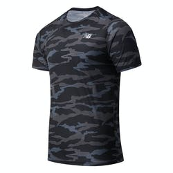 New Balance Printed Accelerate T-Shirt Heren