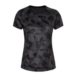 Newline Black Camo Airflow T-shirt Dames