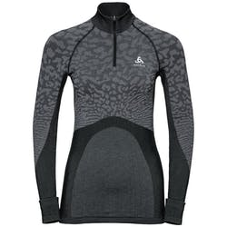 Odlo SUW Turtle Neck 1/2 Zip LS Top Dames