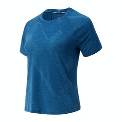 New Balance Q Speed Fuel Jacquard T-Shirt Dames